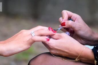 Healthy nail polish
